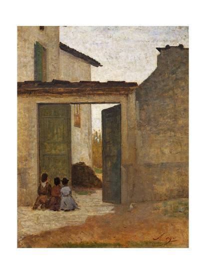 Viaticum, Circa 1864-Silvestro Lega-Giclee Print
