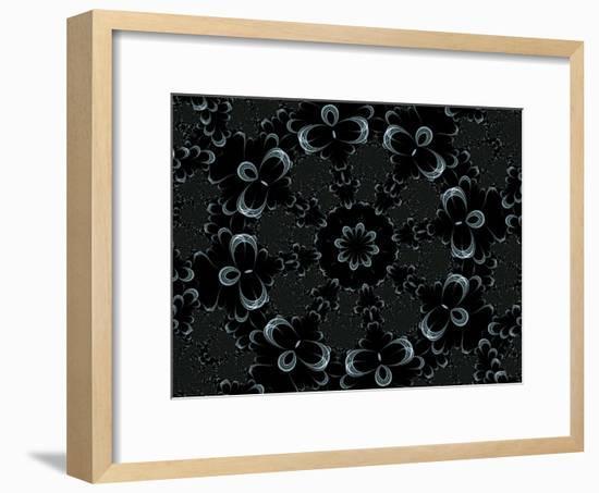Vibes-Fractalicious-Framed Giclee Print