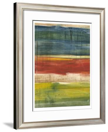 Vibrant Abstract I-Ethan Harper-Framed Limited Edition