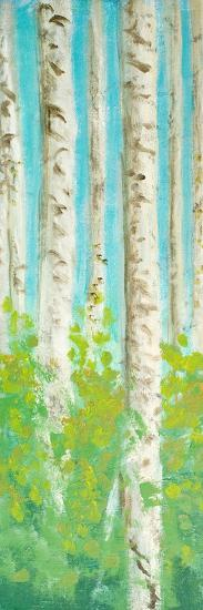 Vibrant Birchwood I-Walt Johnson-Premium Giclee Print