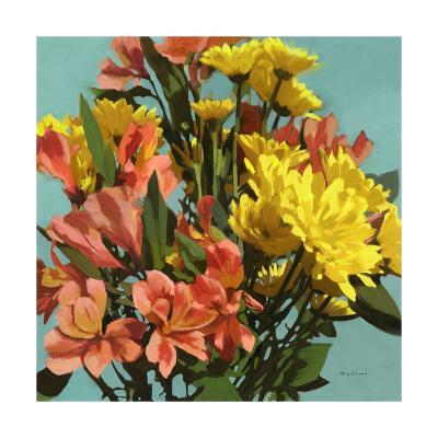 Vibrant Bouquet I-Rick Novak-Art Print