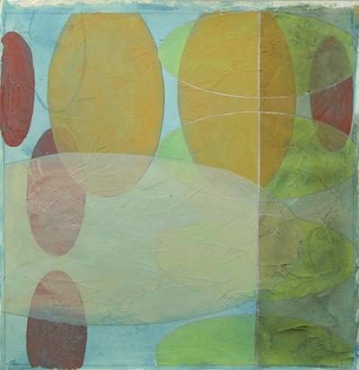 Vibrant Echoes I-Jennifer Goldberger-Art Print