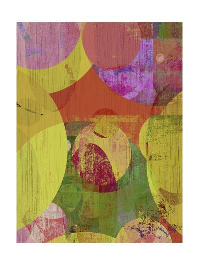 Vibrant Ellipses II-Ricki Mountain-Art Print