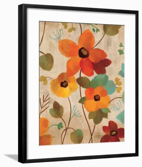 Vibrant Embroidery III--Framed Art Print