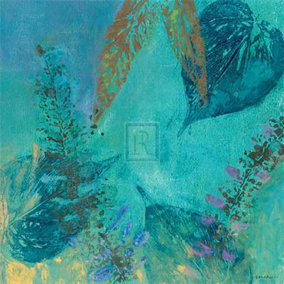 Vibrant IV, Panel One-Jennifer Hollack-Art Print