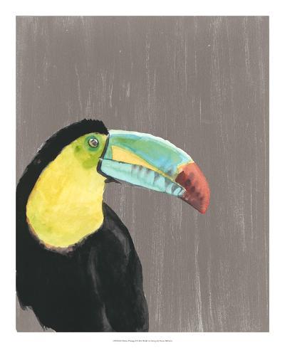 Vibrant Plumage I-Naomi McCavitt-Art Print