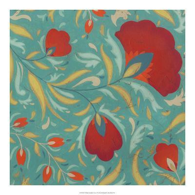 Vibrant Textile II-June Erica Vess-Art Print