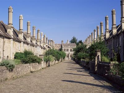 Vicar's Close, Wells, Somerset, England, United Kingdom-Julia Bayne-Photographic Print