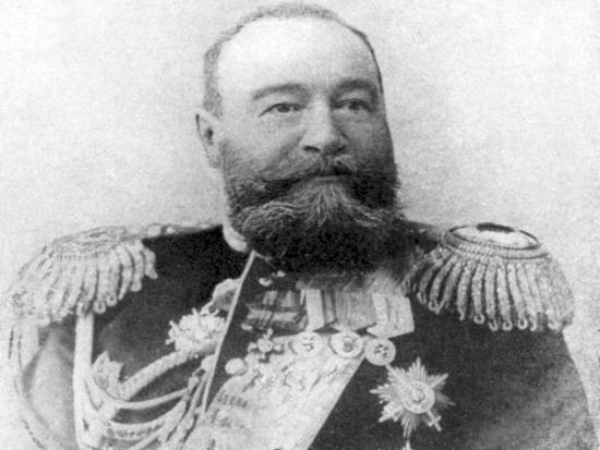 Vice-Admiral Alexeiev, Viceroy of Russian Dominions in the Far East, Russo-Japanese War, 1904-5--Giclee Print