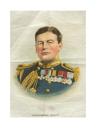 Vice-Admiral Beatty, Cigarette Flag--Giclee Print