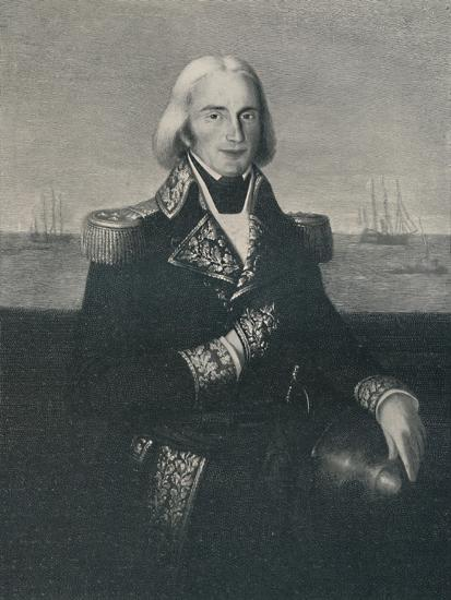 'Vice-Admiral François-Paul Brueys D'Aigalliers, c 1790s, (1896)-Unknown-Giclee Print