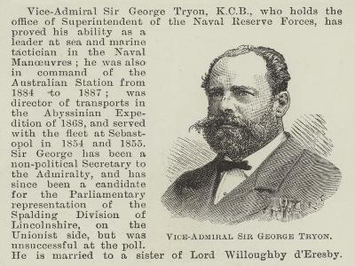 Vice-Admiral Sir George Tryon--Giclee Print