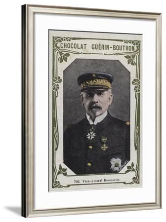 Vice-Amiral Ronnarch--Framed Giclee Print