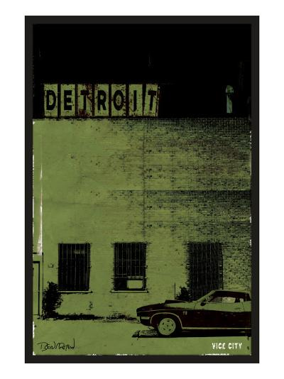 Vice City-Detroit--Art Print