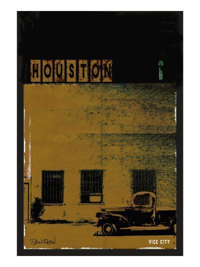 Vice City - Houston-Pascal Normand-Art Print