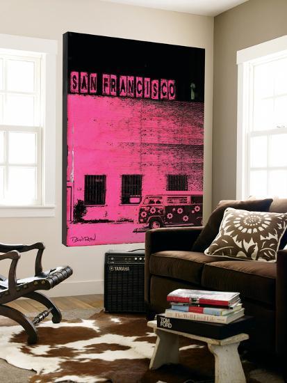 Vice City (San Francisco, Pink) Loft Art by Pascal Normand   Art.com