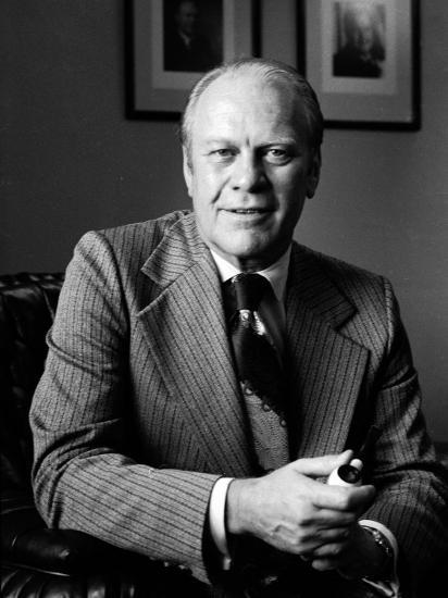Vice President Gerald R. Ford-Alfred Eisenstaedt-Photographic Print