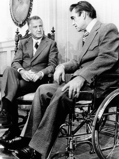 Vice President Spiro Agnew Visits with Right Wing Segregationist Democratic Governor George Wallace--Photo