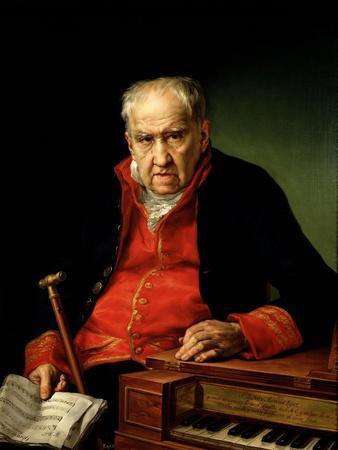 Félix Máximo López, First Organist of the Royal Chapel, 1820