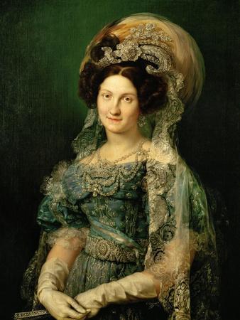 Maria Cristina De Bourbon, Queen of Spain, 1830