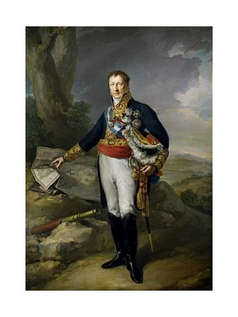 Pedro Alcantara Álvarez de Toledo y Salm Salm, 13th Duke of the Infantado , 1827.