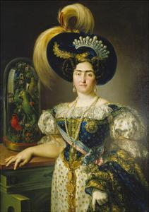 Maria Franziska of Braganza and Bourbon by Vicente Lopez y Portana