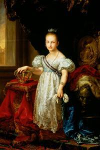 Portrait of Isabella II by Vicente Lopez y Portana