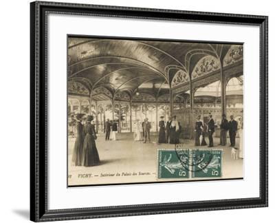 Vichy - the Palais Des Sources--Framed Photographic Print