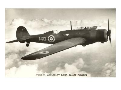 Vickers Wellesley Bomber--Art Print