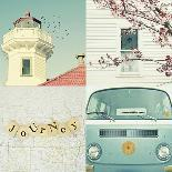 Journey in Blue-Vicki Dvorak-Art Print