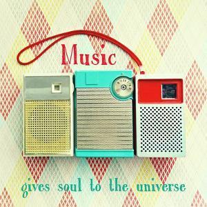 Vintage Radio Inspirational by Vicki Dvorak