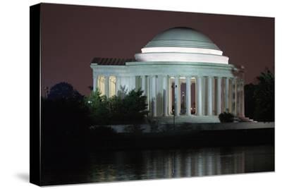 The Jefferson Memorial Illuminated at Dusk