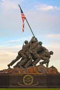 The Marine Corps War Memorial, also Called the Iwo Jima Memorial by Vickie Lewis