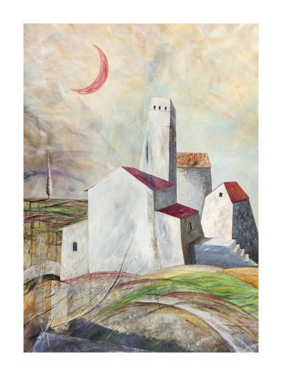 Vicoli misteriosi-Donato Larotonda-Art Print