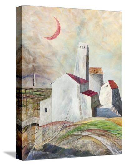 Vicoli misteriosi-Donato Larotonda-Stretched Canvas Print