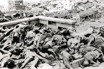 Victims of the Japanese Air Raid, Chungking, 1940--Photographic Print