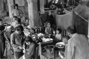 Victims of the Nagasaki Atomic Bombing at Fukuromachi Relief Station, August 1945