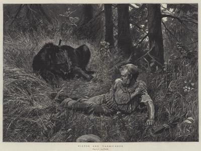 Victor and Vanquished-Richard Caton Woodville II-Giclee Print