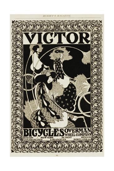 Victor Bicycles Advertisement Giclee Print William H Bradley Art Com
