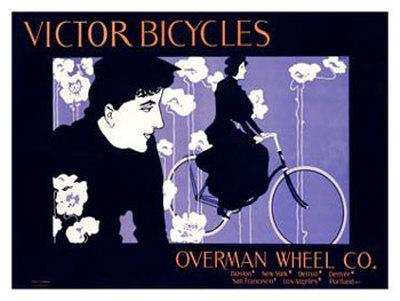 Victor Bicycles Giclee Print William H Bradley Art Com