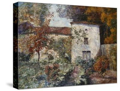 House and Orchard in the Autumn; Maison Et Verger a L'Automne