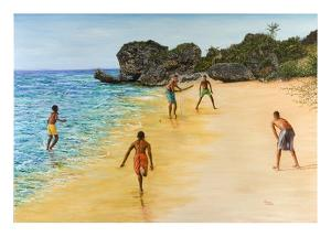 Beach Cricket by Victor Collector