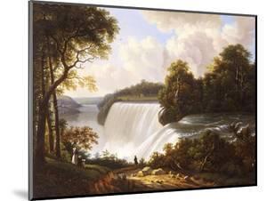 Niagara Falls Scene by Victor De Grailly