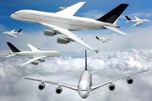 Air Traffic, Conceptual Image by Victor De Schwanberg