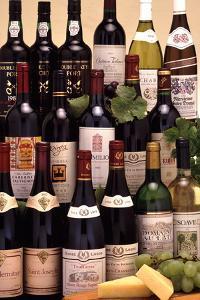 Bottles of Wine by Victor De Schwanberg