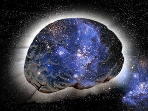 Cosmic Consciousness, Conceptual Artwork by Victor De Schwanberg