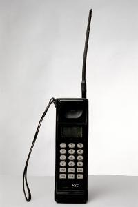 Early Mobile Phone by Victor De Schwanberg