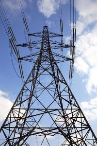 Electricity Pylon by Victor De Schwanberg