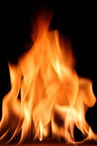 Flames by Victor De Schwanberg