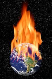Global Warming, Conceptual Artwork by Victor De Schwanberg